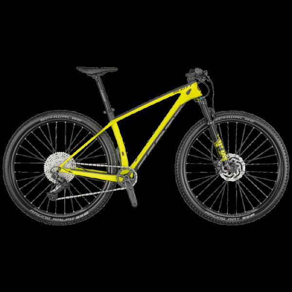 Bicicleta SCOTT Scale 930 tamanho M 2021 yellow